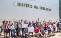Manifestação contra a PECC 55 em Brasília