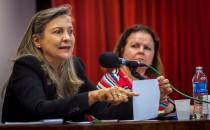 Fotos da Palestra da Maria Lúcia Fattorelli: Dívida Pública – Relações com a retirada de direitos sociais e trabalhistas – 06/06/2017