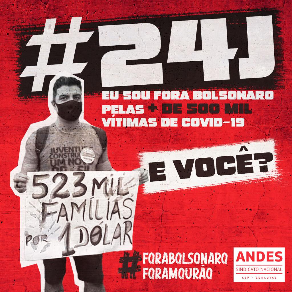 24J andes contra a politica de morte