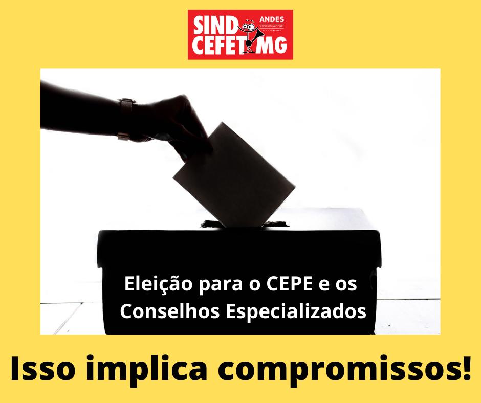 Eleição para o CEPE e Conselhos Especializados